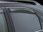 Lexus RX 2009-2015 - Дефлекторы окон (ветровики), задние, темные. (WeatherTech) фото, цена