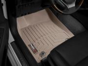 Lexus ES 2013-2019 - Коврики резиновые с бортиком, передние, бежевые. (WeatherTech) фото, цена