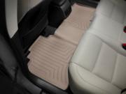Lexus ES 2013-2019 - Коврики резиновые с бортиком, задние, бежевые. (WeatherTech) фото, цена