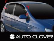 Hyundai Getz 2002-2010 - Дефлекторы окон (ветровики), комлект 4 шт. (Clover) фото, цена