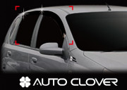 Chevrolet Aveo 2008-2010 - Дефлекторы окон (ветровики), комлект 4 шт. (Clover) фото, цена