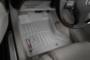 Lexus GS 2006-2012 - (AWD) Коврики резиновые с бортиком, передние, серые. (WeatherTech) фото, цена