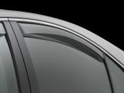 Lexus LS 2006-2014 - Short Дефлекторы окон (ветровики), задние, светлые. (WeatherTech) фото, цена