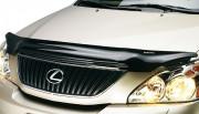 Lexus RX 2003-2008 - Дефлектор капота (мухобойка), темный. (Weathertech) фото, цена