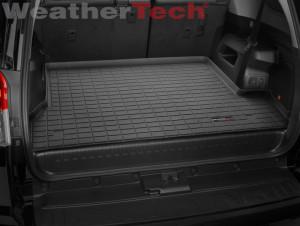 Toyota 4Runner 2010-2014 - Коврик резиновый в багажник, черный. (WeatherTech) 7 мест фото, цена