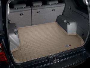 Toyota 4Runner 2003-2009 - Коврик резиновый в багажник, бежевый. (WeatherTech) 5 мест фото, цена