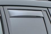Toyota 4Runner 2003-2009 - Дефлекторы окон (ветровики), задние, светлые. (WeatherTech) фото, цена