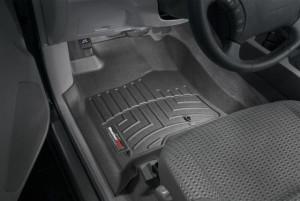 Toyota 4Runner 2003-2009 - Коврики резиновые с бортиком, передние, черные. (WeatherTech) фото, цена