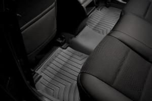Toyota Camry 2011-2014 - Коврики резиновые с бортиком, задние, черные. (WeatherTech) фото, цена