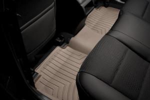 Toyota Camry 2011-2016 - Коврики резиновые с бортиком, задние, бежевые. (WeatherTech) фото, цена