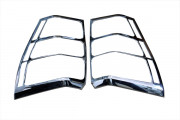 Suzuki Grand Vitara 2005-2011 - Хромированные накладки на задние фонари,(TAW) фото, цена