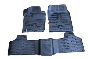 Jeep Grand Cherokee 2011-2012 - Коврики резиновые, комплект. (Chrysler). фото, цена