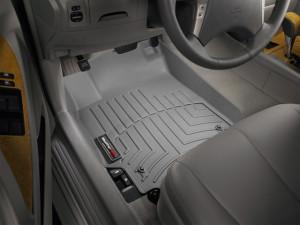 Toyota Camry 2006-2010 - Коврики резиновые с бортиком, передние, серые. (WeatherTech) фото, цена