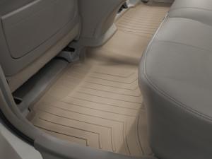 Toyota Camry 2006-2010 - Коврики резиновые с бортиком, задние, бежевые. (WeatherTech) фото, цена