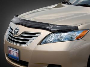 Toyota Camry 2006-2011 - Дефлектор капота (мухобойка), темный. (Weathertech) фото, цена