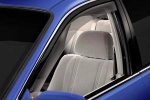 Toyota Camry 2001-2005 - Дефлекторы окон (ветровики), передние, светлые. (WeatherTech) фото, цена