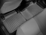 Toyota Corolla 2014-2019 - Коврики резиновые с бортиком, задние, черные. (WeatherTech) фото, цена