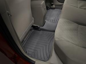 Toyota Corolla 2009-2013 - Коврики резиновые с бортиком, задние, черные. (WeatherTech) фото, цена