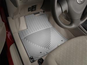 Toyota Corolla 2009-2012 - Коврики резиновые, передние, серые. (WeatherTech) фото, цена