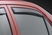 Toyota Corolla 2009-2012 - Дефлекторы окон (ветровики), задние, темные. (WeatherTech) фото, цена