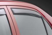 Toyota Corolla 2009-2012 - Дефлекторы окон (ветровики), задние, светлые. (WeatherTech) фото, цена