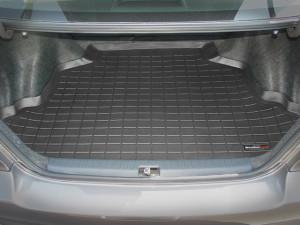 Toyota Corolla 2003-2008 - Коврик резиновый в багажник, черный. (WeatherTech) фото, цена