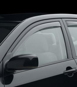 Toyota Corolla 2003-2008 - Дефлекторы окон (ветровики), передние, светлые. (WeatherTech) фото, цена