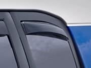 Toyota FJ Cruiser 2007-2014 - Дефлекторы окон (ветровики), задние, темные. (WeatherTech) фото, цена
