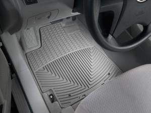 Toyota Highlander 2008-2013 - Коврики резиновые, передние, серые. (WeatherTech) фото, цена