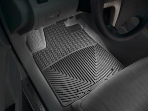 Toyota Highlander 2008-2013 - (Hybrid) Коврики резиновые, передние, черные. (WeatherTech) фото, цена