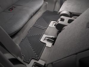 Toyota Highlander 2009-2013 - Коврики резиновые, задние, 3 ряд, черные. (WeatherTech) фото, цена