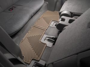 Toyota Highlander 2009-2013 - Коврики резиновые, задние, 3 ряд, бежевые. (WeatherTech) фото, цена