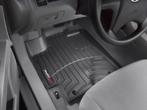 Toyota Highlander 2008-2013 - Коврики резиновые с бортиком, передние, черные. (WeatherTech) фото, цена