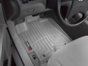 Toyota Highlander 2009-2013 - Коврики резиновые с бортиком, передние, серые. (WeatherTech) фото, цена