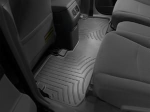 Toyota Highlander 2009-2013 - Коврики резиновые с бортиком, задние, черные. (WeatherTech) фото, цена