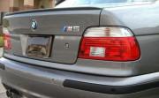 BMW 5 1996-2004 - Лип спойлер на крышку багажника (UA)   фото, цена