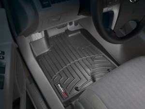 Toyota Highlander 2008-2013 - Коврики резиновые с бортиком, передние, черные. (WeatherTech) Hybrid фото, цена