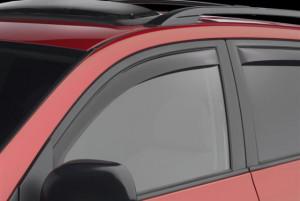 Toyota Rav 4 2006-2012 - Дефлекторы окон (ветровики), передние, темные. (WeatherTech)                фото, цена