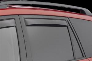 Toyota Rav 4 2006-2012 - Дефлекторы окон (ветровики), задние, темные. (WeatherTech) фото, цена