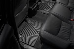 Toyota Rav 4 2006-2012 - Коврики резиновые, задние, черные. (WeatherTech) фото, цена