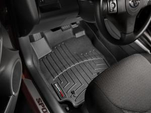 Toyota Rav 4 2006-2012 - Коврики резиновые с бортиком, передние, черные. (WeatherTech) фото, цена