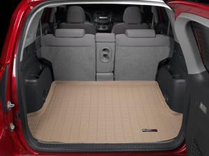 Toyota Rav 4 2006-2012 - Коврик резиновый в багажник, бежевый. (WeatherTech) фото, цена