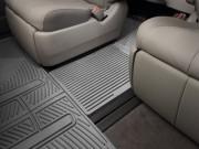 Toyota Sienna 2011-2019 - (7 мест) Резиновая перемычка, серая. (WeatherTech) фото, цена
