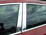 Mazda 3 2003-2009 - sedan Хромированные накладки на стойки, к-т 4 шт. (SAA) фото, цена