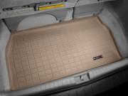 Toyota Sienna 2004-2010 - (3 ряда) Коврик резиновый в багажник, бежевый. (WeatherTech) фото, цена