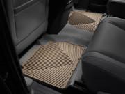 Toyota Tundra 2007-2018 - Коврики резиновые, задние, бежевые. (WeatherTech) фото, цена