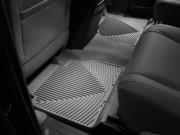 Toyota Tundra 2007-2018 - Коврики резиновые, задние, серые. (WeatherTech) фото, цена
