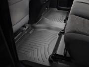 Toyota Tundra 2007-2013 - (CrewMax) Коврики резиновые с бортиком, задние, черные. (WeatherTech) фото, цена