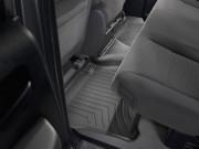 Toyota Tundra 2007-2013 - (Double Cab) Коврики резиновые с бортиком, задние, черные. (WeatherTech) фото, цена