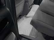 Toyota Tundra 2007-2013 - (Double Cab) Коврики резиновые с бортиком, задние, серые. (WeatherTech) фото, цена